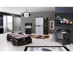 Cars Bedroom Set Full Size Ferrari Racer Bedroom Set Black