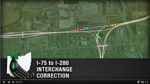Michigan Traffic Map by Interstate 75 Toledo