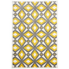 Yellow Outdoor Rug Made Indoor Outdoor Rug In Grey Yellow 230x160cm
