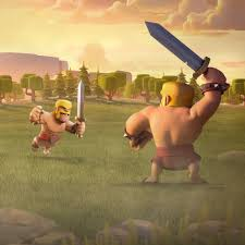 clash of clans wallpaper background barbarian clash of clans games hd 4k wallpapers