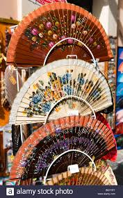 held folding fans held folding fans in a shop on the corso vittorio emanuele