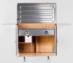 Portable Camping Kitchen Organizer - field kitchen camping kitchen chuck box the complete by kanzshop