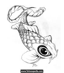 koi fish tattoo design for girls on back in 2017 real photo