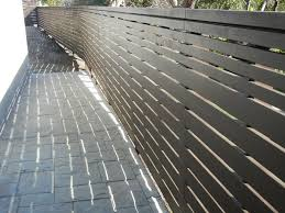 modern wood fence encino ca provided by harwell fencing u0026 gates