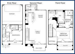 3 story townhouse floor plans 3 story townhouse plans 4 bedroom duplex house d 415