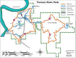 Florida Campgrounds Map by Torreya State Park Gladiator Life