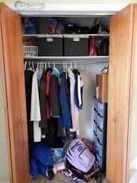organized closet reveal organizing homelife