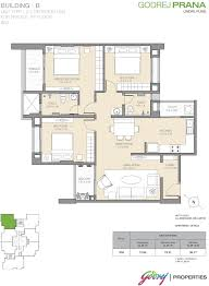 Floor Plan Of Bank by Godrej Prana By Godrej Properties In Undri Pune Price Location