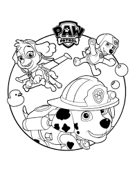 paw patrol 5 cartoons u2013 printable coloring pages