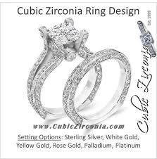 what are bridal set rings cubic zirconia wedding sets cz bridal sets cubic zirconia cz