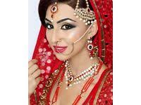 asian bridal makeup artist in london bedford luton st albans milton keynes