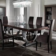 Extendable Dining Room Table And Chairs Dining Room Large Modern Italian Veneered Extendable Dining