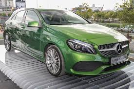 mercedes benz a200 now rm3k more costly u2013 rm209k