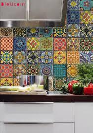 tile decals for kitchen backsplash bleucoin tile decals tile decals rental kitchen and kitchens