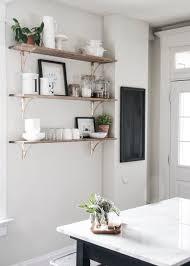 Kitchen Open Shelving Ideas 110 Best Floating Shelves Images On Pinterest Kitchen Kitchen