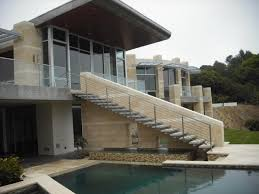 stainless and glass exterior contemporary exterior san diego