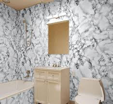 Modern Wallpaper For Bathrooms High Quality Wallpaper 3d Modern Pvc Imitation Marble