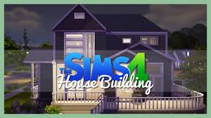 the sims 4 house building 1 small family home youtube