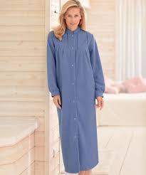 robe chambre polaire robe de chambre en molleton polaire 130 cm vison femme damart