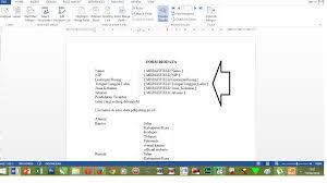 cara membuat mail merge di word 2013 cara mengganti format angka dan text mail merge word 2013 sekedar
