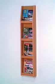 Business Card Racks Wood Magazine Racks Foter
