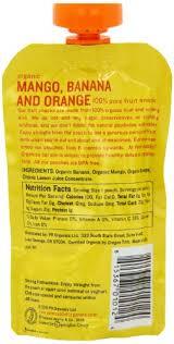 rabbit organics reviews rabbit organics mango banana and orange snacks 4 ounce