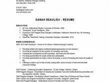 corporate training plan template free resume