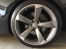 audi titanium wheels for sale audi s5 oem rotor wheels titanium 19x9 et33