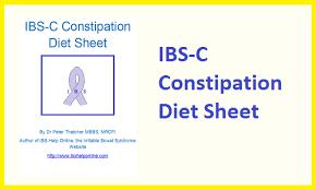 ibs c constipation diet sheet www ibshelponline com for me 2