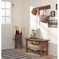 entryway coat rack bench wayfair