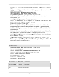 Sap Fico Sample Resume 3 Years Experience by Sap Grc Security Sample Resume 3 10 Years Experience Stechies