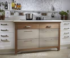 wire brushed white oak kitchen cabinets comfort zone downsview kitchens and custom cabinetry