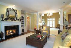 modern design dining room living room interior stock images