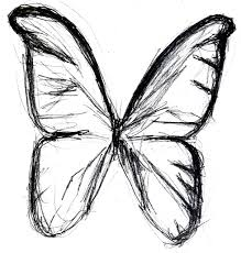 simple drawing butterfly how to draw a cartoon bumble bee step