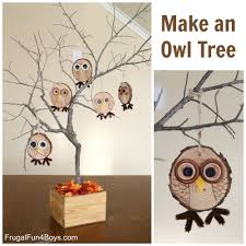 Owl Decorations For Home by How To Make Adorable Wood Slice Owl Ornaments And An Owl Tree