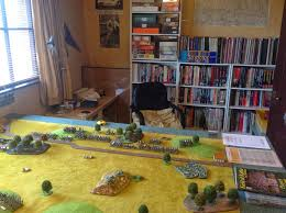 sgt steiner u0027s wargaming blog new wargames room and a field of