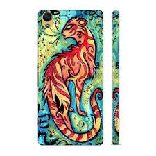 enthopia designer hardshell zodiac tiger back cover for
