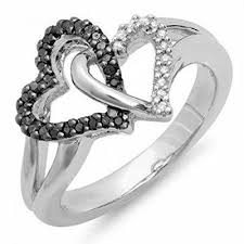 925 sterling silver v shaped heart promise ring size 5 6 7 8 9 10 27 best black promise rings images on commitment rings