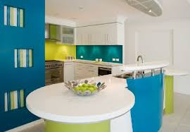 colorful kitchen design beach house kitchen fun and funky design