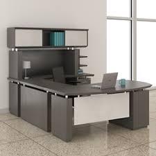 Wrap Around Computer Desk U Shaped Desk Shop Wrap Around Desk With Desk Hutch Nbf Com