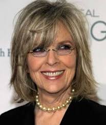 medium lenght hair for old women medium hairstyles over 50 diane keaton layered bob hairstyle