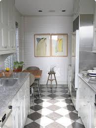 Corridor Kitchen Design Ideas Kitchen Amazing Design Ideas Using Rectangular Silver Range Hood