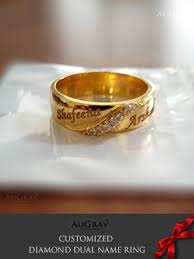 wedding rings with names name engraved gold rings wedding rings wedding rings