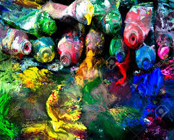 Paint Pallet by Messy Paint Palette