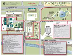 Colorado College Campus Map by Printer Friendly Map Chadwick Arboretum U0026 Learning Gardens