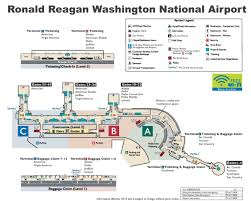 Atlanta Airport Map Delta by Ronald Reagan Washington National Airport Map
