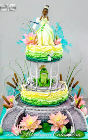 princess frog theme cake mladman cakes u0026 cake