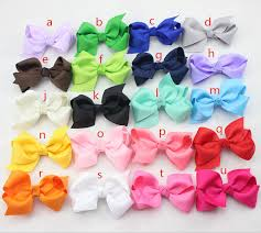 ribbon boutique aliexpress buy 2 75 inch cheap ribbon boutique hair bows for