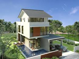large minimalist modern bungalow design plans ideas effmu