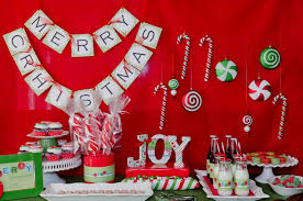 Diy Decoration For Christmas Party by Christmas Party Decorations Diy